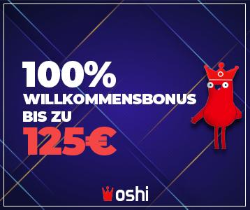 Oshi Casino Screenshot